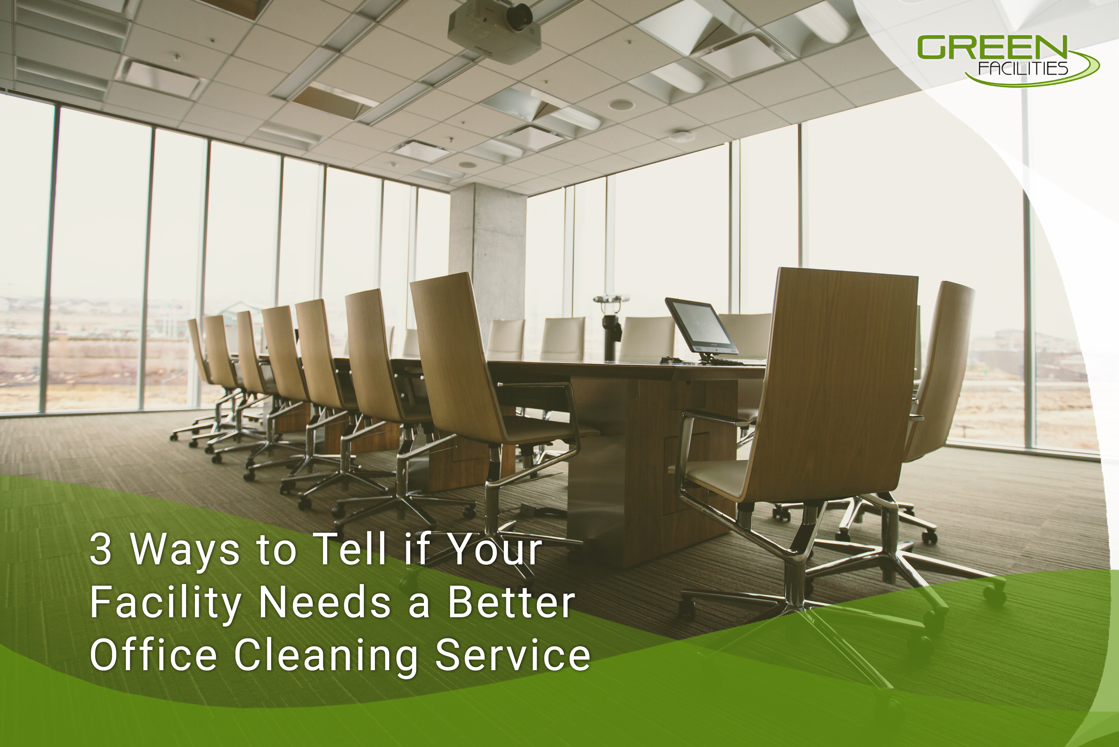 3 Ways to Tell if Your Facility Needs A Better Office Cleaning Service