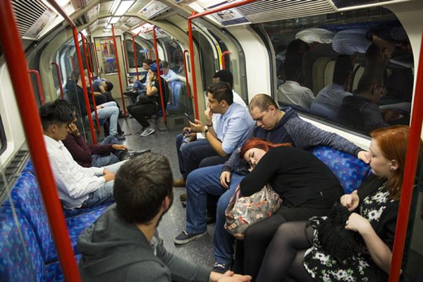 How clean is the London commute?