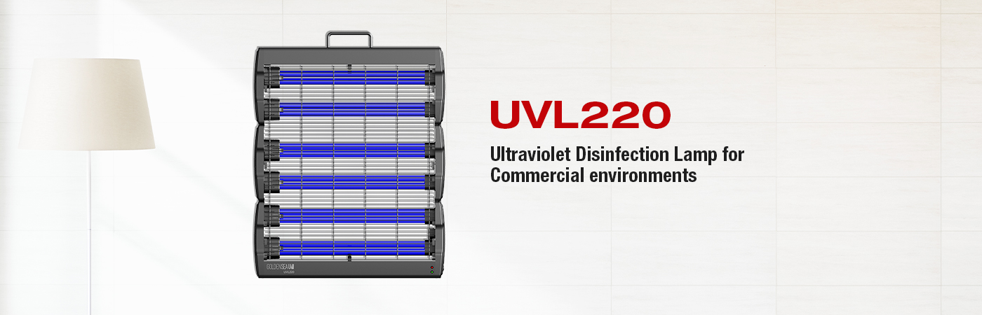UVL220 Ultraviolet Disinfection Lamp for Commercial Environments