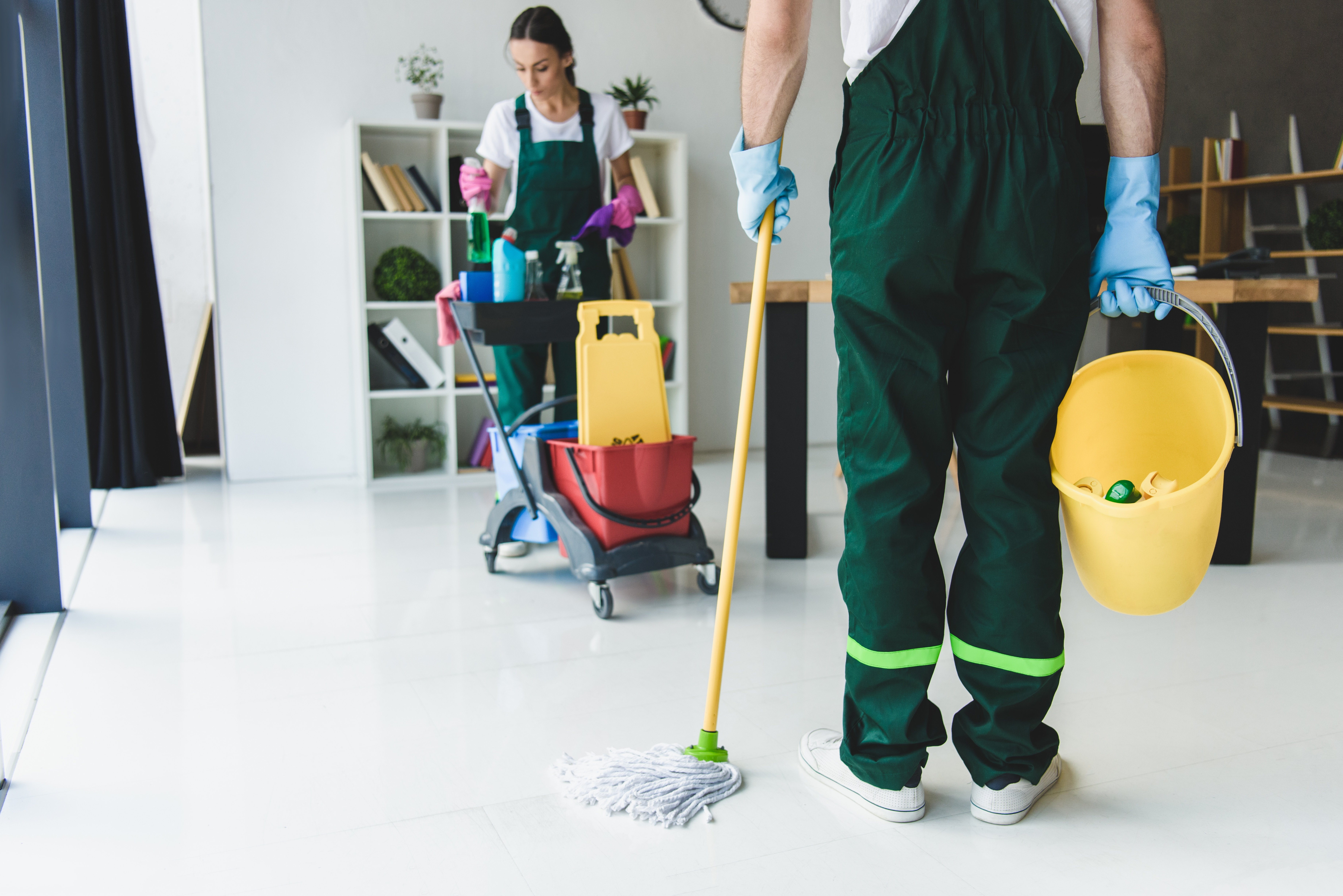Why Choose a Green Cleaning Contractor