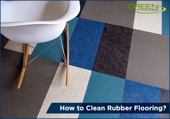 Clean Rubber Flooring