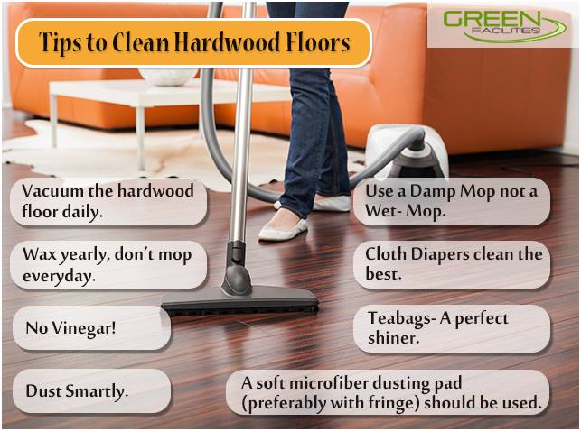 8 Useful Tips to Clean Hardwood Floors