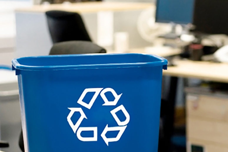 tips starting recycling program office
