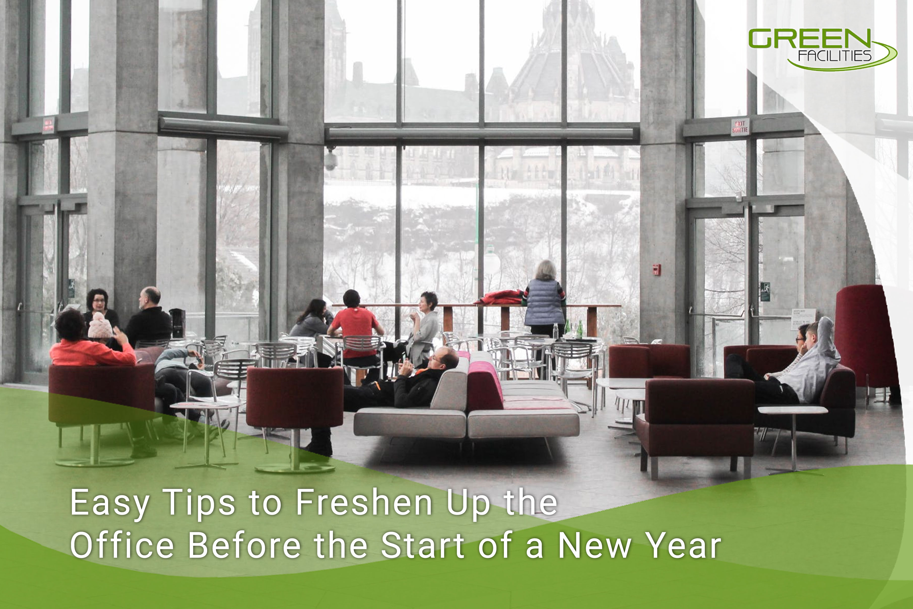 Easy Tips to Freshen Up the Office Before the Start of a New Year