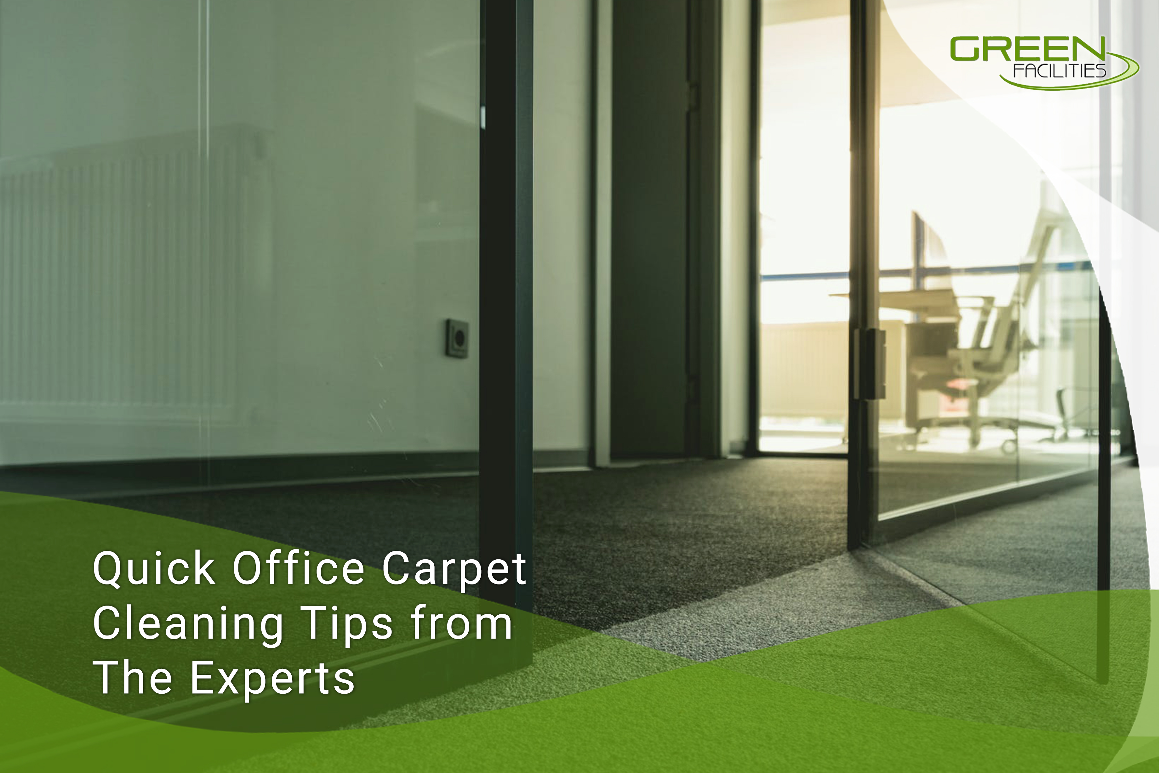 Quick Office Carpet Cleaning Tips from The Experts
