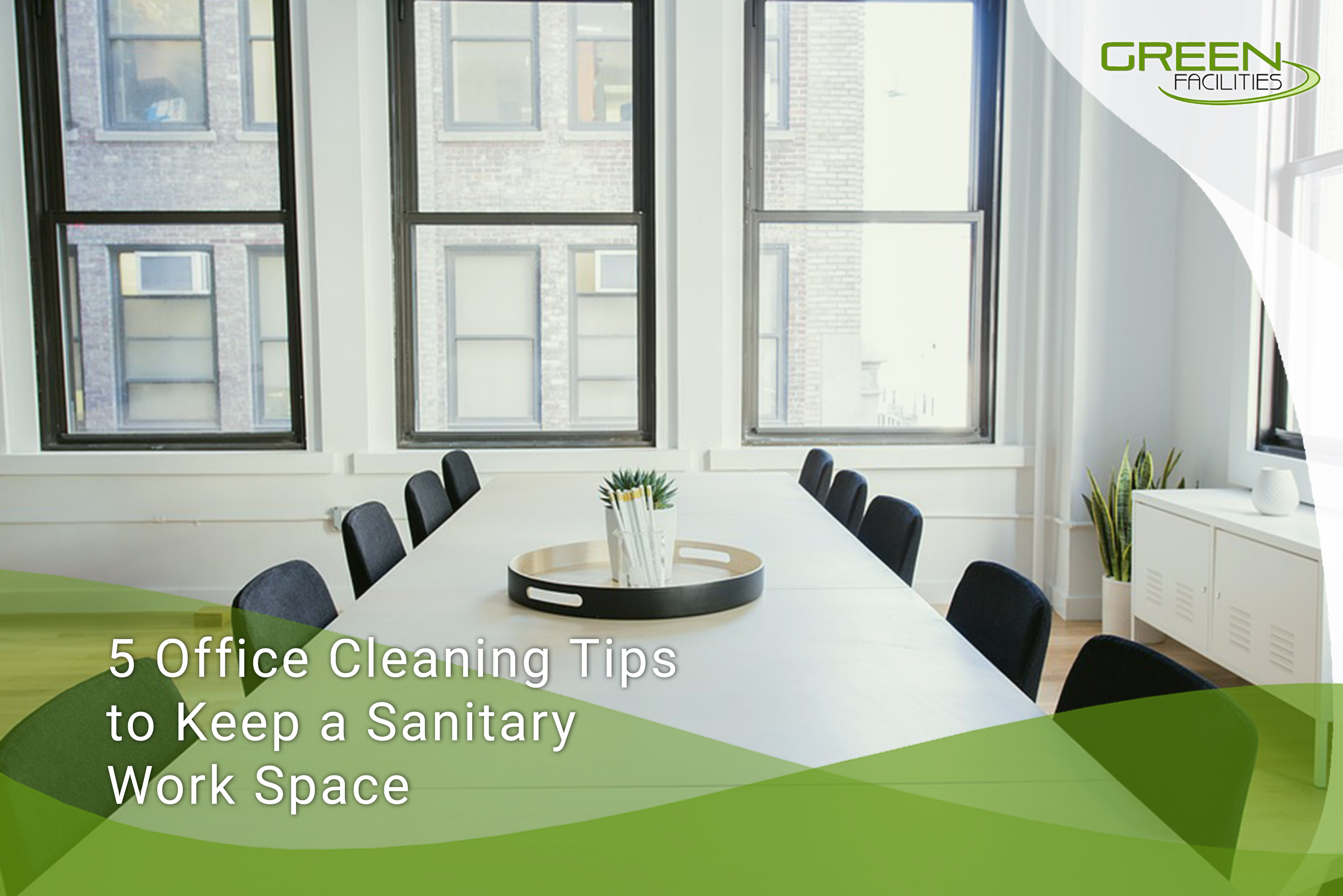 5 Office Cleaning Tips to Keep a Sanitary Work Space