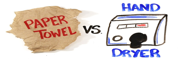 Paper Towel versus Hand Dryer: Which is Better?