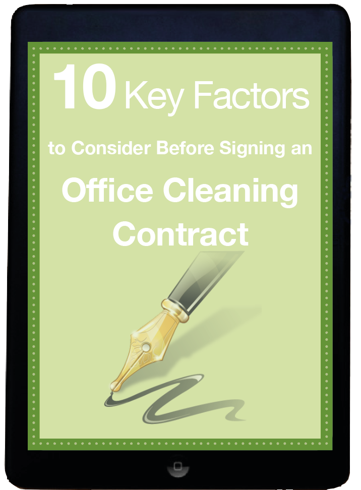 Key Factors to Consider Before Signing a Cleaning Contract