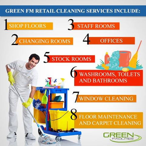 Retail Cleaning Company: Maintaining the Appearance of your Store