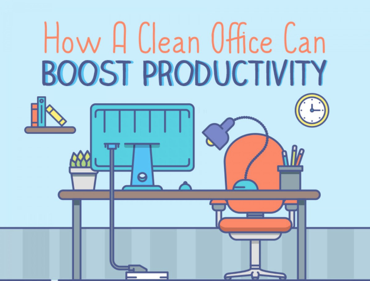 Infographic: How a Clean Office Can Boost Productivity