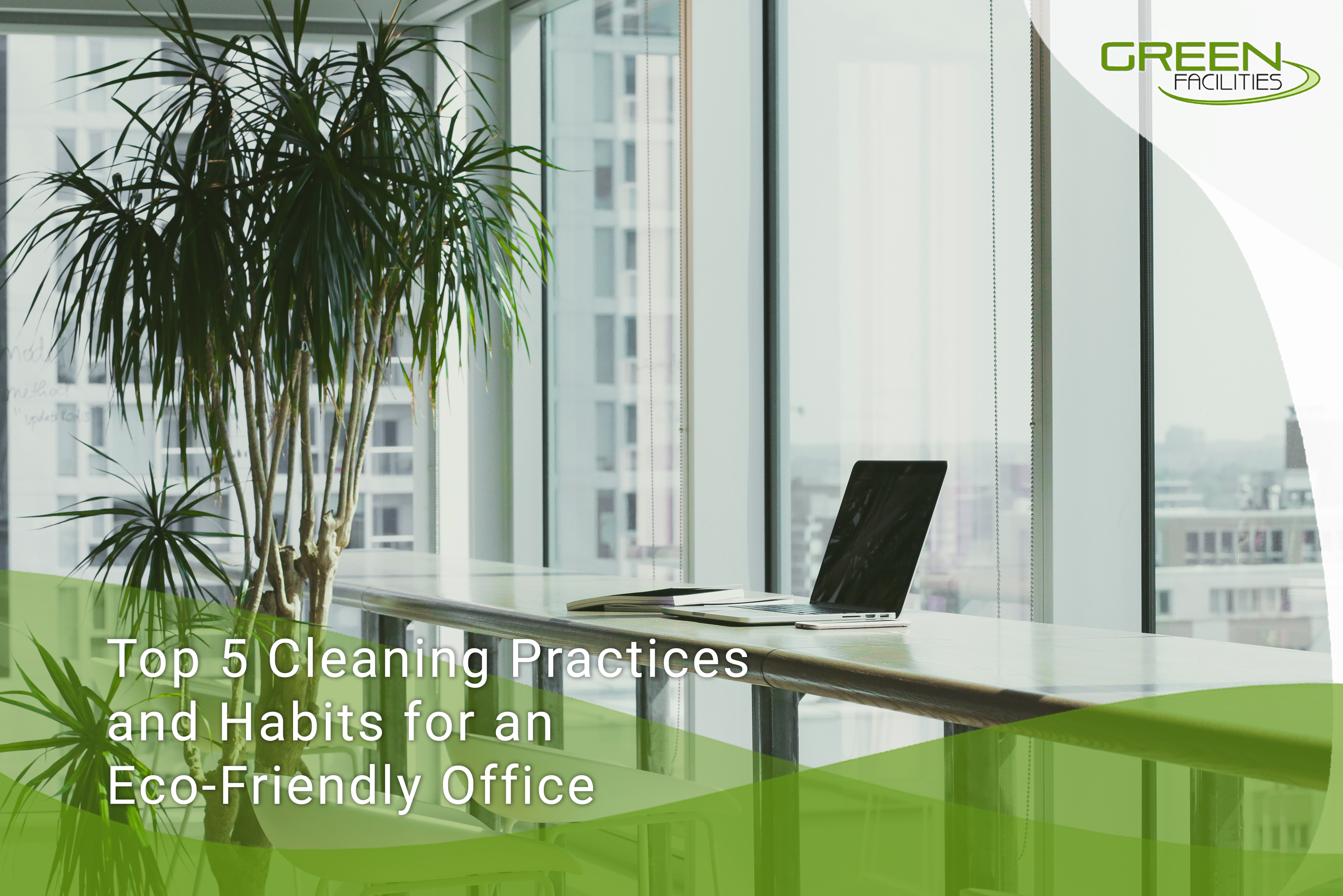 Top 5 Cleaning Practices and Habits for an Eco-Friendly Office