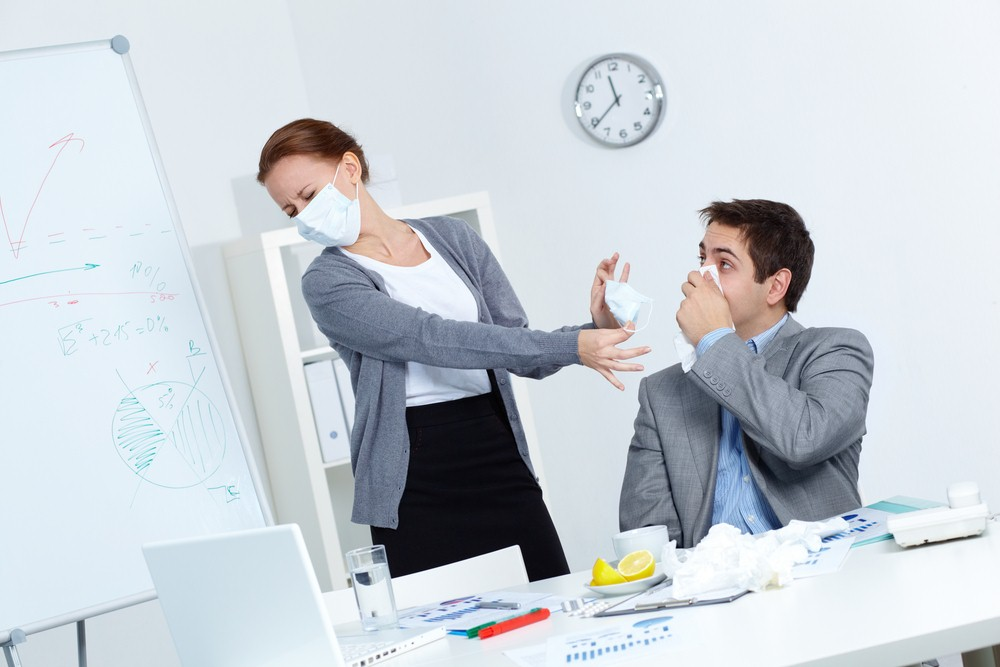 Tips to Cope with Workplace Illness